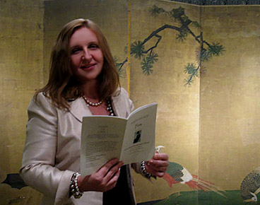 Maja Trochimczyk reading from Poets on Site Chapbook for Japanese Gifts Exhibition,