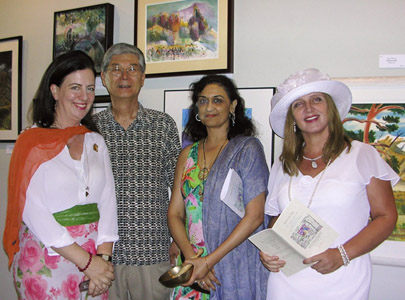 with Susan Rogers, Taoli-Ambika Talwar, and Minoru Ikeda, September 2009